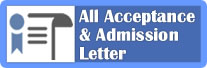 All Admission Letters